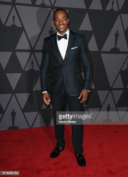 Anthony Mackie attends the Academy of Motion Picture Arts and Sciences' 9th Annual Governors Awards at The Ray Dolby Ballroom at Hollywood Highland...