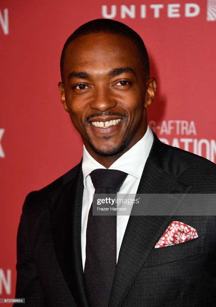 Anthony Mackie attends the SAG-AFTRA Foundation Patron of the Artists Awards 2017 at the Wallis Annenberg Center for the Performing Arts on November 9, 2017 in Beverly Hills, California.