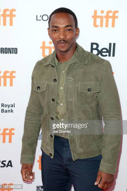 Anthony Mackie attends the SYNCHRONIC premiere during the 2019 Toronto International Film Festival at Ryerson Theatre on September 07 2019 in Toronto...