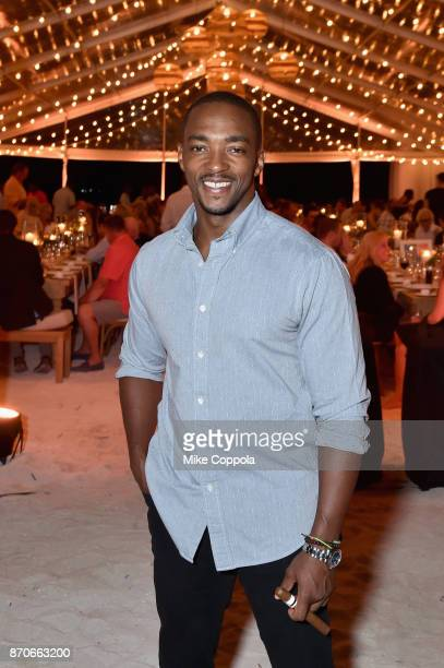 Anthony Mackie attends the weekend opening of The NEW ultraluxury Cove Resort at Atlantis Paradise Island on November 4 2017 in The Bahamas