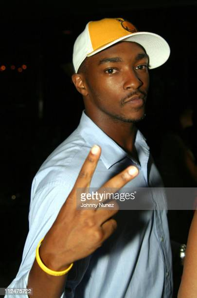 Anthony Mackie during Ant Demey Birthday Celebration at The Park in New York City New York United States