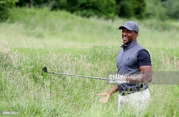 Anthony Mackie during the One For The Boys Golf Tournament at The Grove on June 12 2016 in Watford England