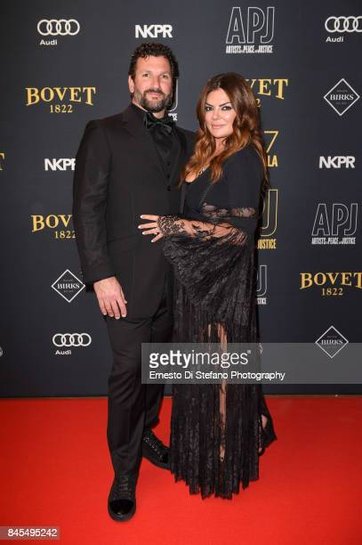 Anthony Mantella and Natasha Koifman attend the Artists For Peace And Justice Festival Gala 2017 Presented By Bovet 1822 at AGO on September 10 2017...