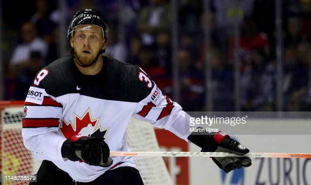 Anthony Mantha of Canada skates against Finland during the 2019 IIHF Ice Hockey World Championship Slovakia group A game between Finland and Canada...