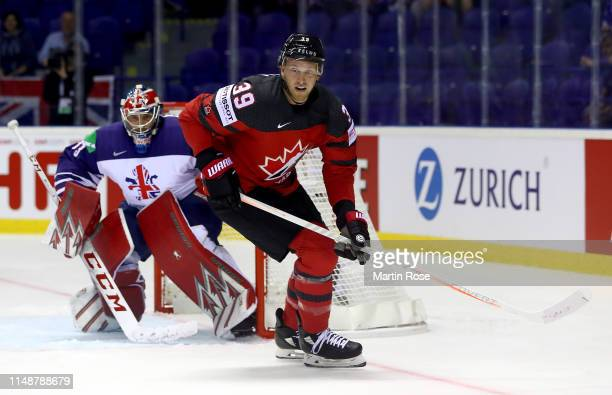 Anthony Mantha of Canada skates against Great Britain during the 2019 IIHF Ice Hockey World Championship Slovakia group A game between Great Britain...