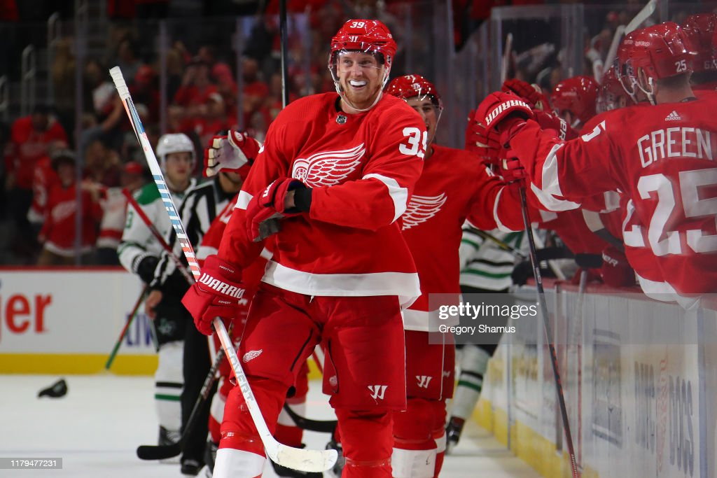 Dallas Stars v Detroit Red Wings : News Photo