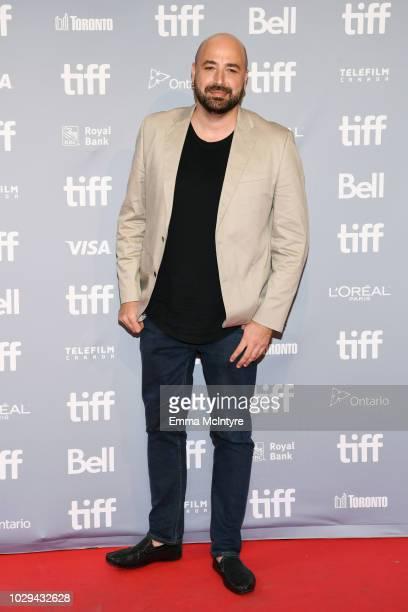 Anthony Maras attends Hotel Mumbai Press Conference during 2018 Toronto International Film Festival at TIFF Bell Lightbox on September 8 2018 in...