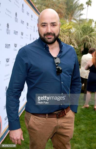Anthony Maras attends Variety's Creative Impact Awards and 10 Directors to Watch Brunch Red Carpet at the 29th Annual Palm Springs International Film...