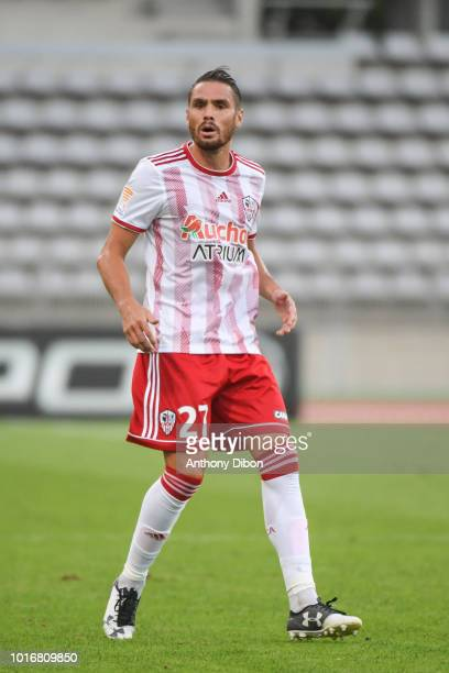 Anthony Marin of Ajaccio during the League Cup match between Paris FC and AC Ajaccio at Stade Charlety on August 14 2018 in Paris France