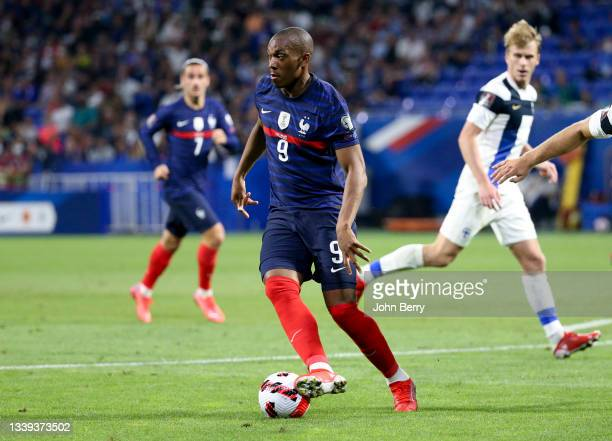 Anthony Martial of France during the 2022 FIFA World Cup Qualifier match between France and Finland at Groupama Stadium on September 7, 2021 in...