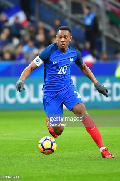 Anthony Martial of France during the international friendly match between France and Wales at Stade de France on November 10 2017 in Paris France
