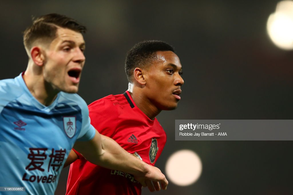 Manchester United v Burnley FC - Premier League : News Photo