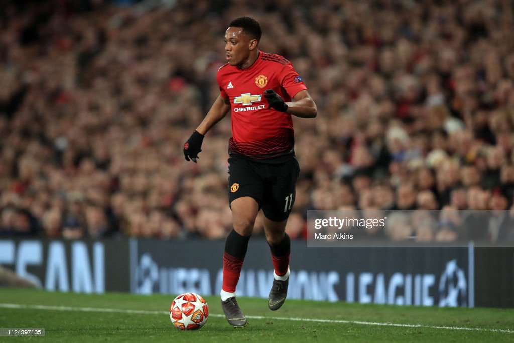 Manchester United v Paris Saint-Germain - UEFA Champions League Round of 16: First Leg : News Photo