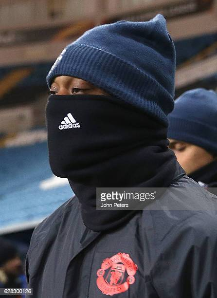 Anthony Martial of Manchester United in action during a first team training session at Central Stadium Chernomorets on December 7 2016 in Odessa...