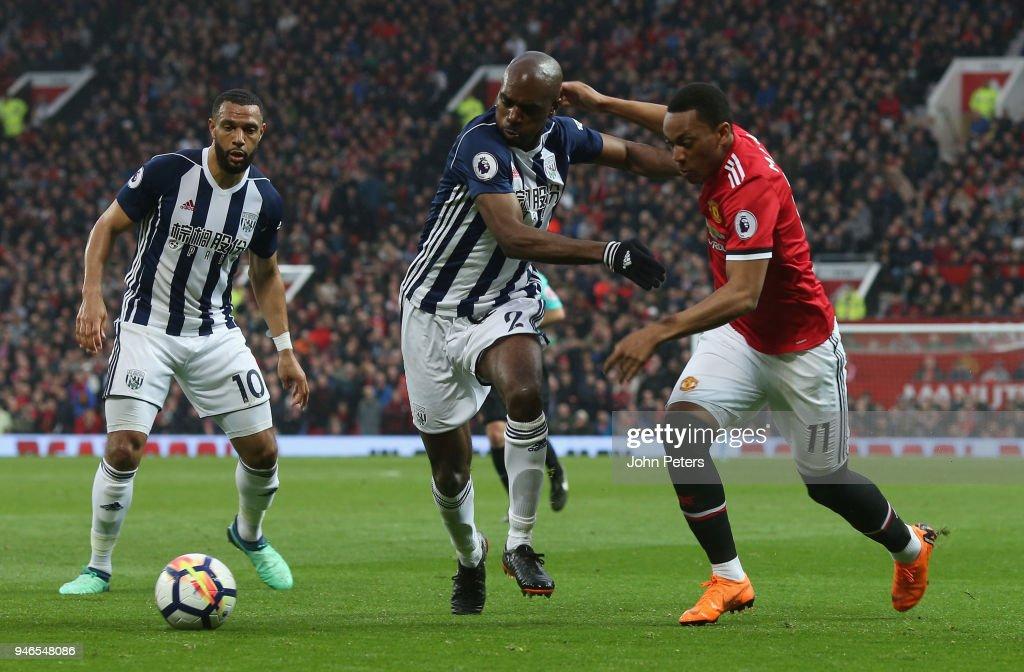 Manchester United v West Bromwich Albion - Premier League : News Photo