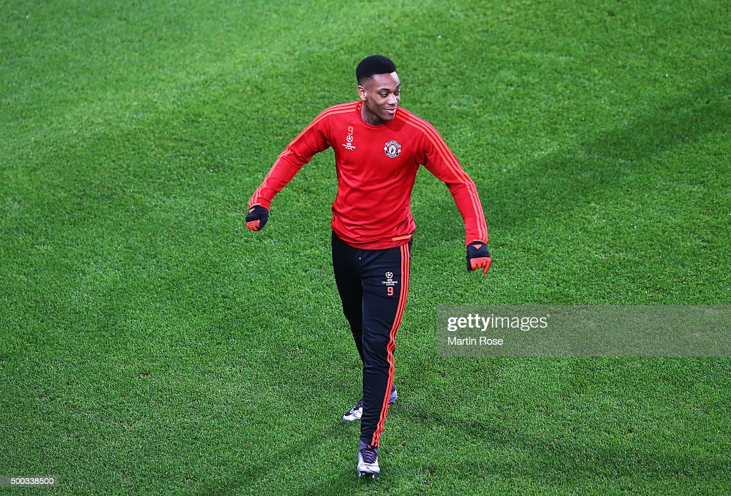 Manchester United  - Training & Press Conference : Fotografía de noticias