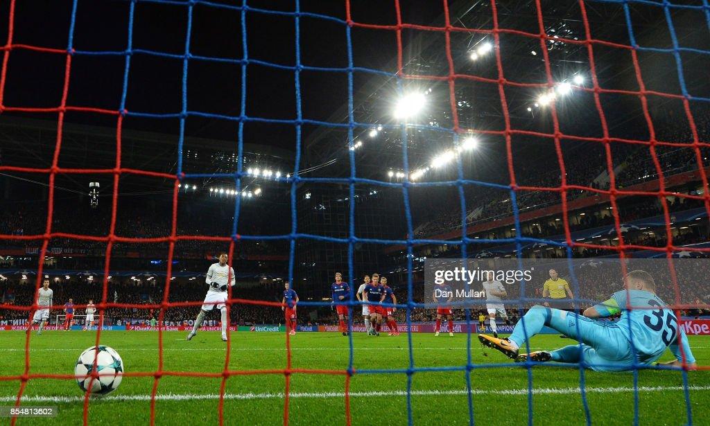 CSKA Moskva v Manchester United - UEFA Champions League : News Photo