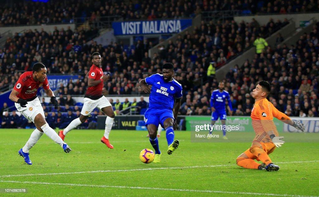 Cardiff City v Manchester United - Premier League : Fotografía de noticias