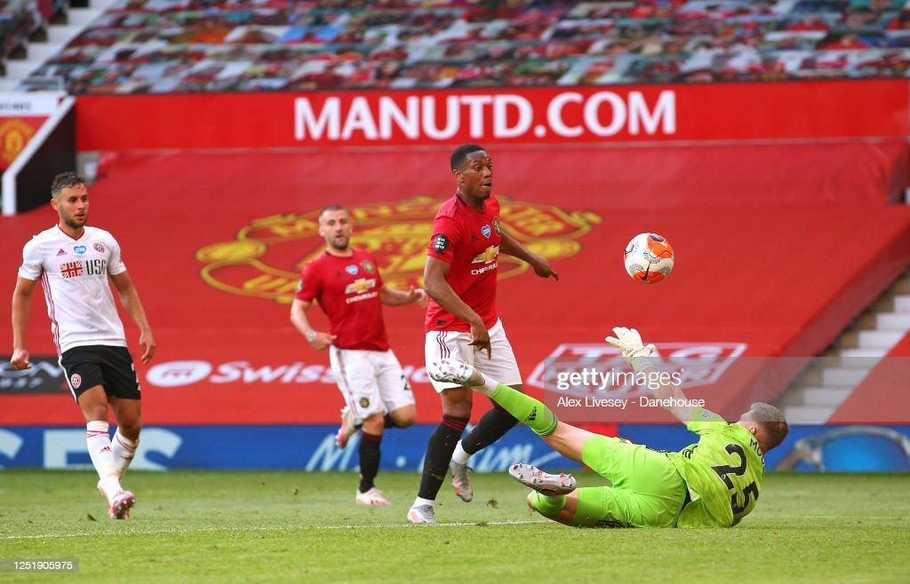 Manchester United v Sheffield United - Premier League : News Photo