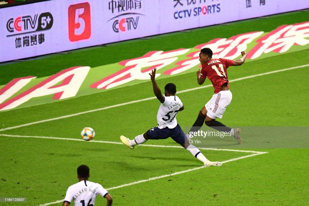 Tottenham Hotspur v Manchester United - 2019 International Champions Cup : News Photo