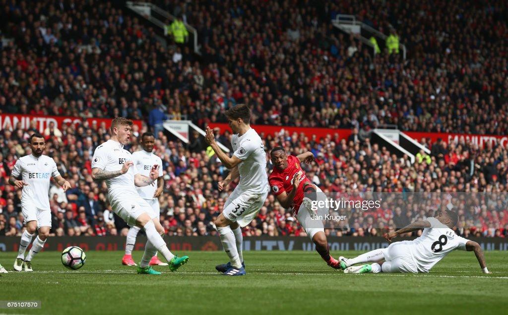 Manchester United v Swansea City - Premier League : News Photo