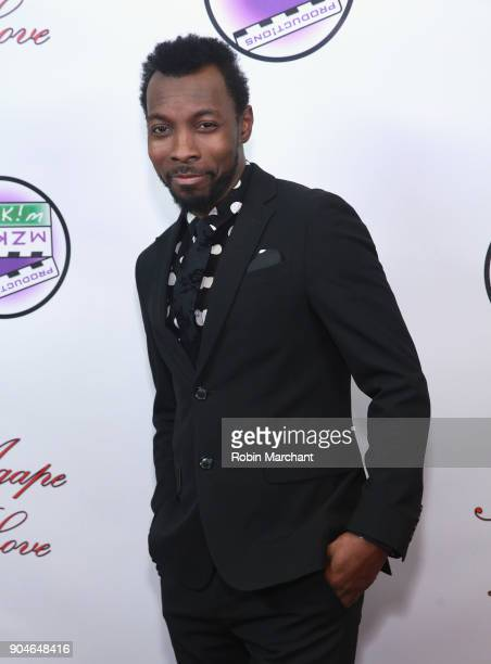 Anthony McGahee attends Agape Love Red Carpet on January 13 2018 in Milwaukee Wisconsin