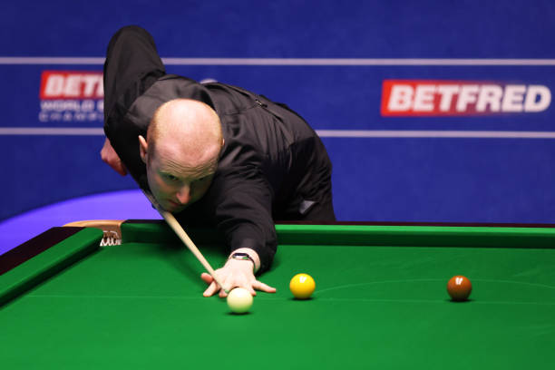 GBR: Betfred World Snooker Championship - Day Two