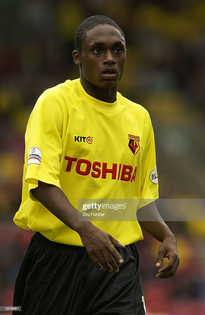 Anthony McNamee of Watford during the Nationwide League Division One match between Watford and Walsall at Vicarage Road in Watford, England on September 7, 2002.