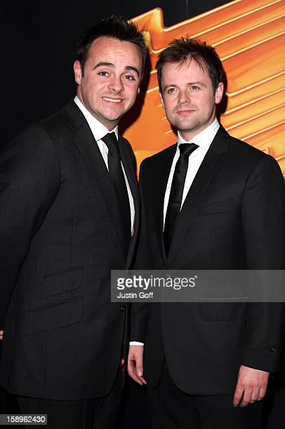 Anthony Mcpartlin And Declan Donnelly Arrive At The Royal Television Society Programme Awards Held At The Grosvenor House Hotel In Central London