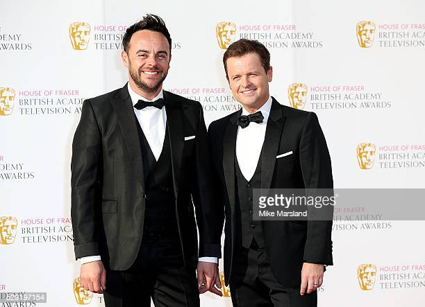 Anthony McPartlin and Declan Donnelly arrive for the House Of Fraser British Academy Television Awards 2016 at the Royal Festival Hall on May 8 2016...