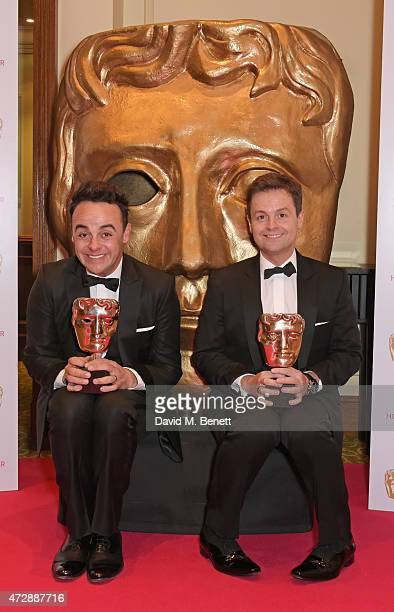 Anthony McPartlin and Declan Donnelly attend the After Party dinner for the House of Fraser British Academy Television Awards at The Grosvenor House...