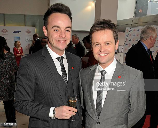 Anthony McPartlin and Declan Donnelly attend The Prince's Trust Samsung Celebrate Success Awards at Odeon Leicester Square on March 26 2013 in London...