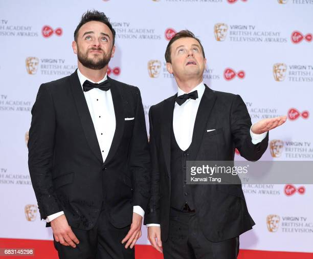 Anthony McPartlin and Declan Donnelly attend the Virgin TV BAFTA Television Awards at The Royal Festival Hall on May 14 2017 in London England