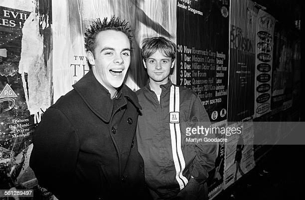 Anthony McPartlin and Declan Donnelly Camden London United Kingdom 1994