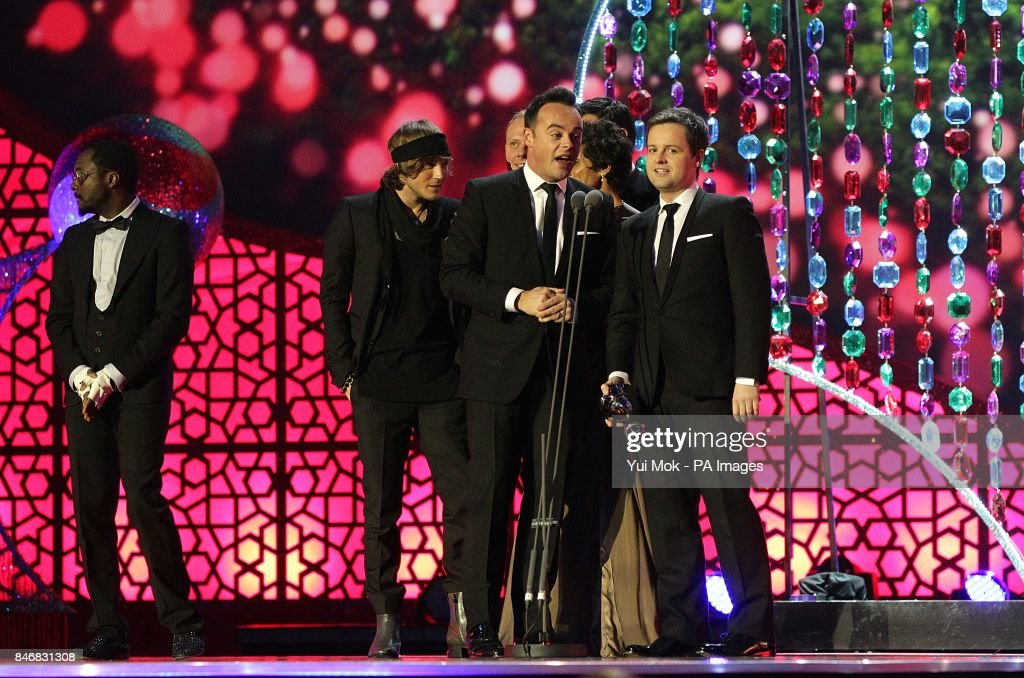 Anthony McPartlin and Declan Donnelly collect the Best