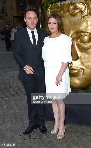 Anthony McPartlin and Lisa Armstong attend the British Academy Television Craft Awards at The Brewery on April 26 2015 in London England