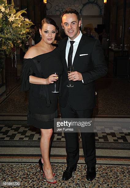 Anthony McPartlin and wife Lisa Armstrong attend the Philips British Academy Television Awards after party at the Natural History Museum on June 6...