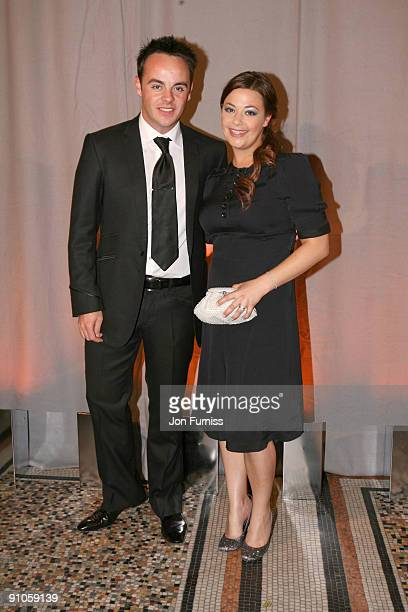 Anthony McPartlin and wife