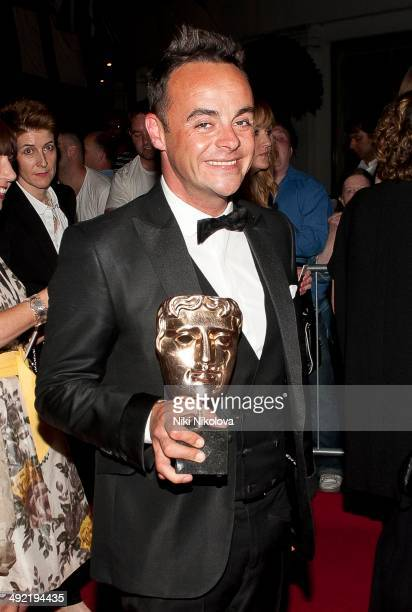 Anthony McPartlin arrives at the Arqiva British Academy Television Awards after party held at the Grosvenor house Park Lane on May 18 2014 in London...