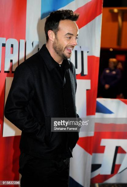 Anthony McPartlin attends the Britain's Got Talent Manchester auditions at The Lowry on February 8 2018 in Manchester England