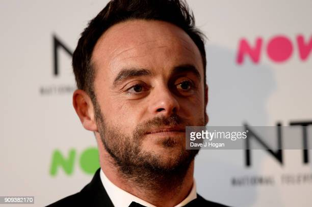Anthony McPartlin attends the National Television Awards 2018 at The O2 Arena on January 23 2018 in London England