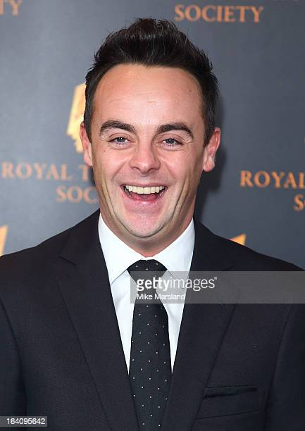 Anthony McPartlin attends the RTS Programme Awards at Grosvenor House on March 19 2013 in London England