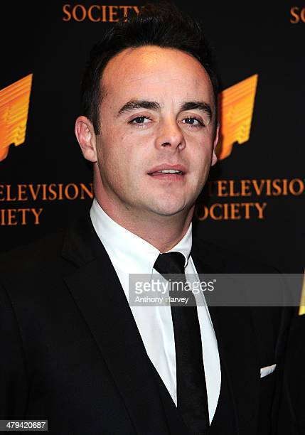 Anthony McPartlin attends the RTS programme awards at Grosvenor House on March 18 2014 in London England