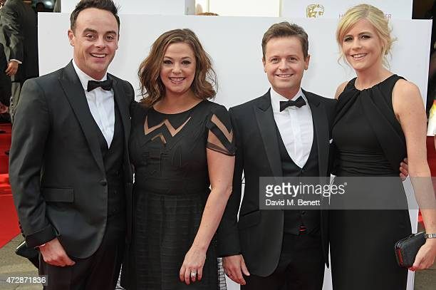 Anthony McPartlin Lisa Armstrong Declan Donnelly and Ali Astall attend the House of Fraser British Academy Television Awards at Theatre Royal Drury...