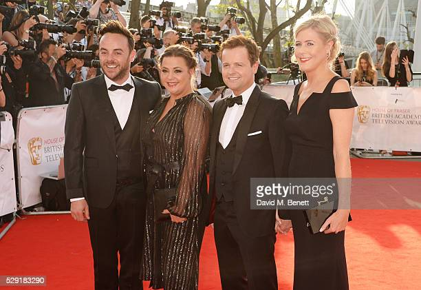 Anthony McPartlin Lisa Armstrong Declan Donnelly and Ali Astall attend the House Of Fraser British Academy Television Awards 2016 at the Royal...