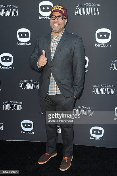 Anthony Mendez arrives at the 4th Annual SAG Foundation Poker Classic and party benefiting the Don LaFontaine VoiceOver Lab at The Museum of Flying...
