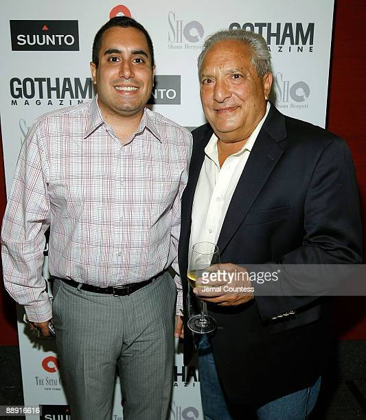 Anthony Micari and Tony Micari attend the launch of the New Elementum Watch Collection by SUUNTO with special guests John Starks and Chris Duhon of...