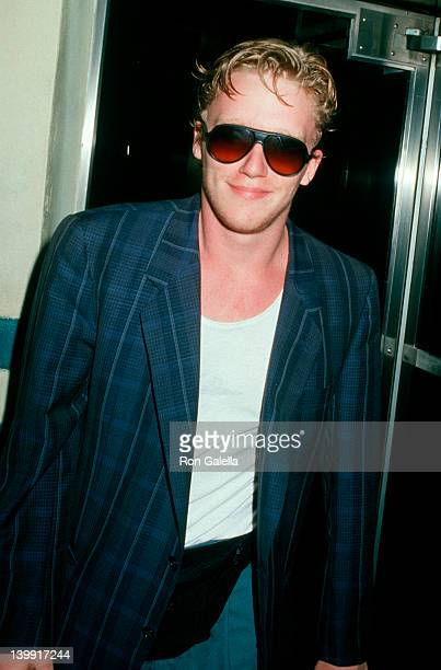 Anthony Michael Hall at the Birthday Party for Debbie Gibson Ed Debevic's Restaurant Hollywood