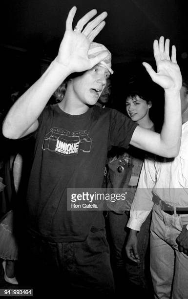 Anthony Michael Hall attends 'Vamp' Party on July 15 1986 at Stringfellow's in New York City