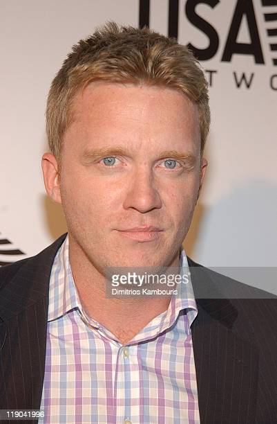 Anthony Michael Hall during 2003 US Open USA Network Celebrates The Opening Of the 2003 US Open at USTA National Tennis Center in Queens New York...